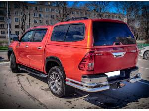Кунг Sammitr V2 (раздвижные боковые стекла) на Toyota Hilux Revo (2015-2019)