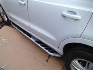 Боковые пороги OEM STYLE на Audi Q3 (2011-)