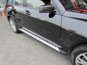 Боковые пороги OEM STYLE на Mercedes-Benz GLK (2008-)