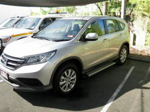 Боковые пороги интегрированные EGR на Honda CRV (2013-2014)