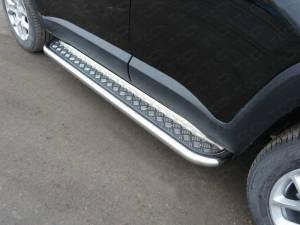 Пороги с площадкой 60,3 мм для Jeep Renegade 4WD (2015-)