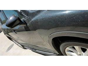Боковые пороги OEM Style на Mazda CX-5 (2011-2014)