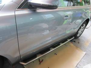 Боковые пороги OEM STYLE на Audi Q5 (2008-)