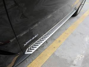 Боковые пороги OEM STYLE на BMW X5 F15 (2014-)
