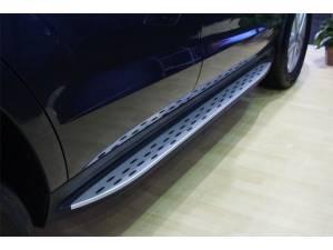 Боковые пороги OEM STYLE на Mercedes-Benz GL 166 (2012-)