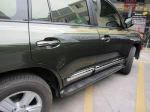 Боковые пороги LEXUS STYLE на Toyota Land Cruiser 200 (2007-2012)
