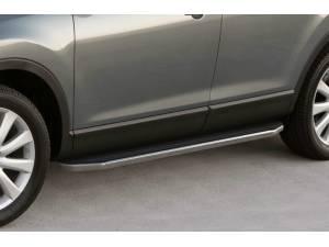 Боковые пороги Premium на Nissan X-Trail (2015-)
