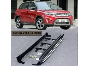 Боковые пороги для Suzuki Grand Vitara (2015-)