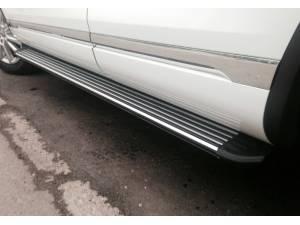 Боковые пороги OEM STYLE на Volkswagen Touareg (2002-2010)