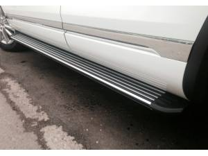 Боковые пороги OEM STYLE на Porsche Cayenne (2002-2010)