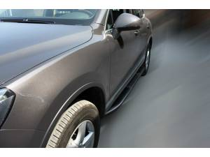 Боковые пороги OEM STYLE на для Volkswagen Touareg (2010-2013)