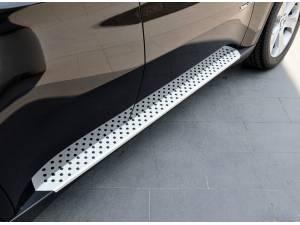 Боковые пороги OEM STYLE на BMW X6 E71 (2008-2014)