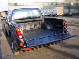 Защитное покрытие кузова Raptor на Mitsubishi L200 (2006-2013)