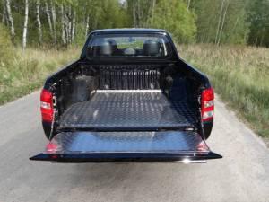 Вкладыш в кузов алюминиевый (дно,борт) для Fiat Fullback (2016-)