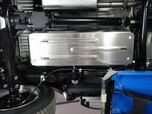 Защита бензобака алюм. 4 мм на Fiat Fullback (2016-)