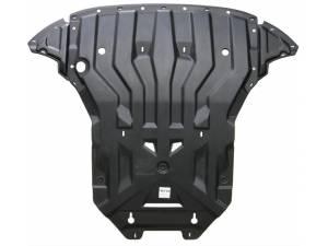 Защита картера двигателя и кпп композит, 8 мм для Audi Q5 (2008-)