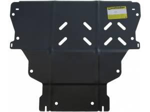 Защита двигателя, КПП 2 мм, сталь для Ford Kuga (2013-2015)