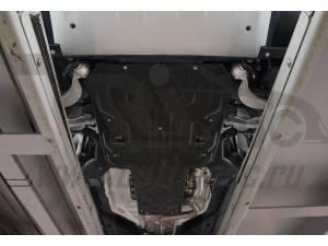 Защита картера двигателя и кпп 6 мм, композит для Jaguar F-Pace (2016-)