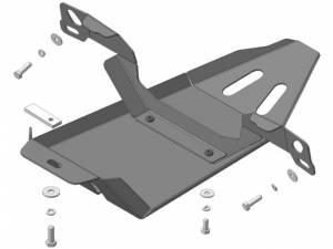 Защита заднего дифференциала 3 мм, сталь для Land Rover Freelander 2 (2007-)