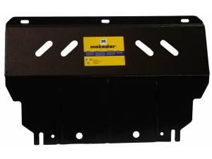 Комплект защит двигателя, дифференциала, радиатора 2 мм, сталь для Mitsubishi L200 long 2014