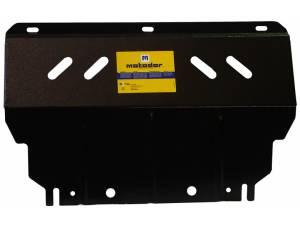 Комплект защит двигателя, дифференциала, радиатора, КПП, рк 3 мм, сталь для Mitsubishi L200 long 2014