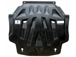 Защита картера двигателя и кпп 8 мм, композит для Mitsubishi Outlander (2012-2013)
