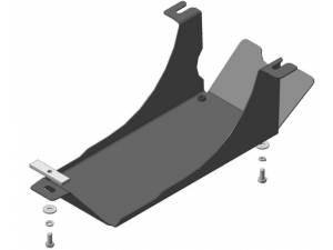 Защита заднего дифференциала 2 мм, сталь для Renault Duster