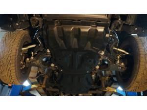 Защита картера двигателя и кпп 12 мм, композит для Toyota Tundra (2007-2013)