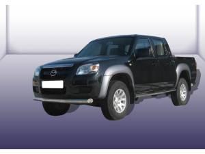 Защита переднего бампера d76 на Mazda BT-50 (2007-2012)