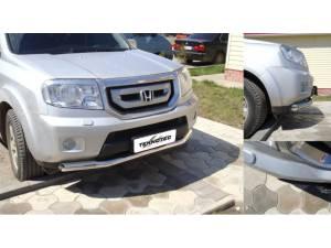Защита переднего бампера d76 на Honda Pilot (2008-2011)