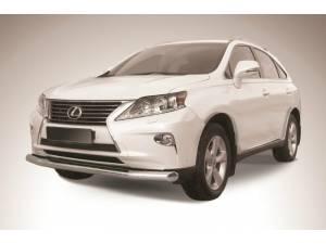 Защита переднего бампера d76 на Lexus RX 270/350/450h (2013-)
