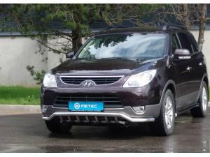 Защита переднего бампера Metec на Hyundai IX55 (2006-)