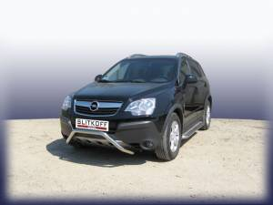Кенгурятник низкий d57 на Opel Antara (2007-2010)