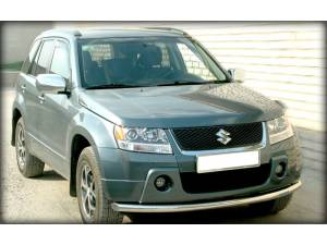 Защита переднего бампера d60 на Suzuki Grand Vitara (5 дв.) (2005-2008)