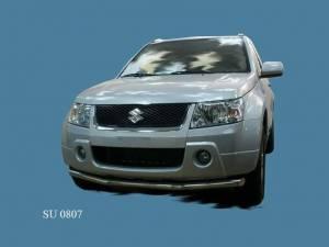 Защита переднего бампера d60 на Suzuki Grand Vitara (5 дв.) (2008-2012)