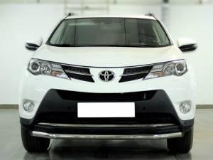 Защита заднего бампера d53 на Toyota Rav4 (2013-2015)