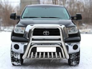 Кенгурятник высокий d101/53 на Toyota Tundra (2007-2013)