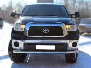 Защита переднего бампера d76 на Toyota Tundra (2007-2013)