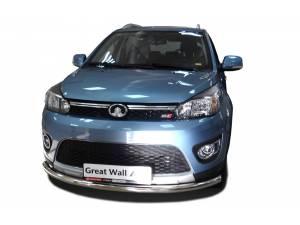 Защита переднего бампера d60 на Great Wall M4 (2013-)