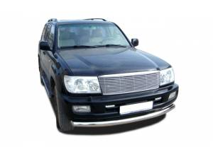 Защита переднего бампера d76 на Toyota Land Cruiser 100 (1997-2008)