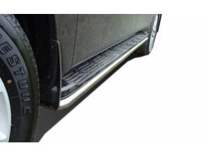 Защита штатного порога d42 на Nissan Patrol (2010-2013)