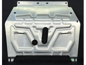 Защита картера двигателя и КПП алюминий 4 мм на Opel Mokka (2012-)