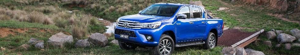 Аксессуары для новой Toyota Hilux Revo