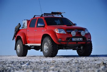 тюнинг на toyota hilux pick up